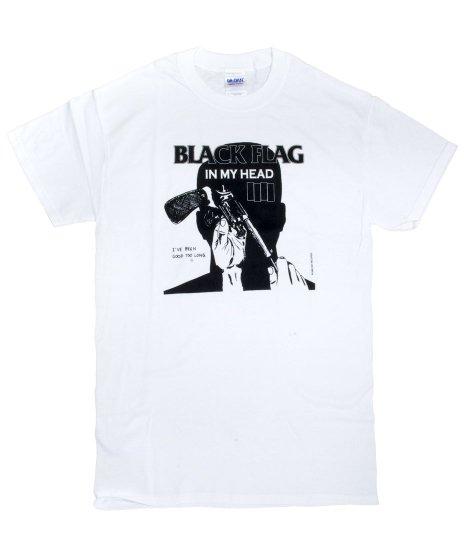 Black Flag(ブラック・フラッグ) Tシャツ In My Head