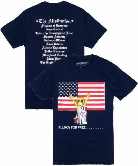 All ( オール ) Tシャツ Allroy For Prez