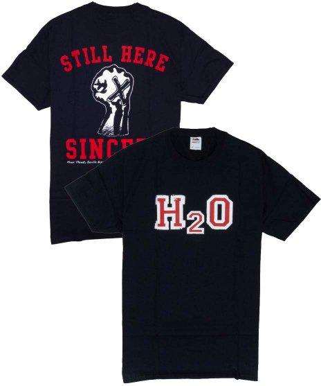 H2O Tシャツ Still Here