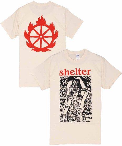 シェルター ( Shelter ) Tシャツ Logo