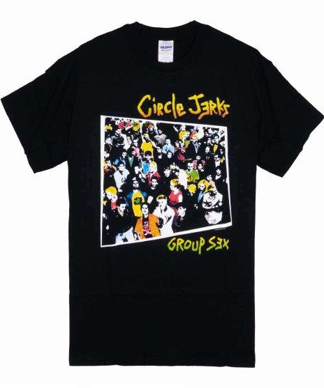サークル ジャークス ( Circle Jerks ) Tシャツ Group Sex
