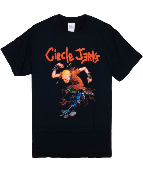 サークル ジャークス ( Circle Jerks ) Tシャツ Skank Man