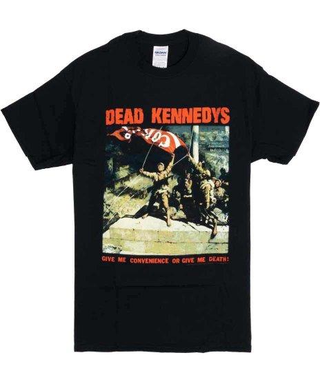 デッド ケネディーズ ( Dead Kennedys ) Tシャツ Give Me Convenience