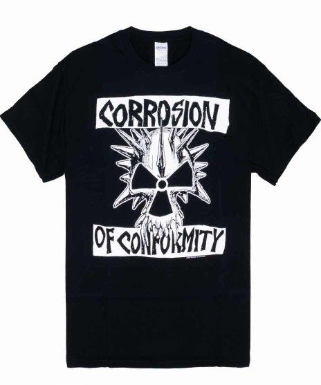 COC (コロージョン・オブ・コンフォーミティ) Tシャツ Classic Skull