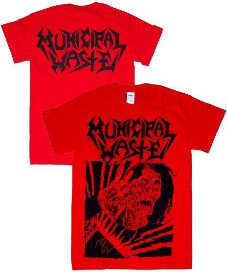 ミュニシパル ウェイスト ( Municipal Waste ) Tシャツ Skelbot