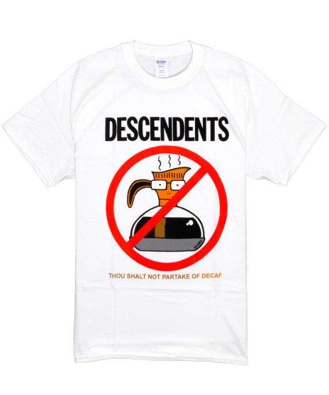 ディセンデンツ ( Descendents ) Tシャツ Thou Shall Not Partake Of Decaf