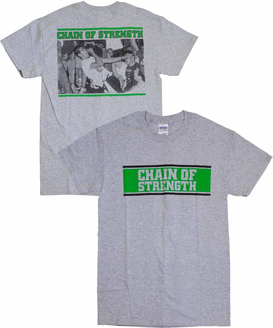 chain of strength tシャツ the one thing that still holds true 通販の