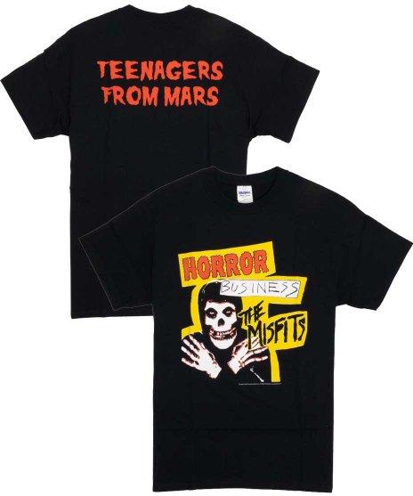 ミスフィッツ ( Misfits ) Tシャツ Horror Business