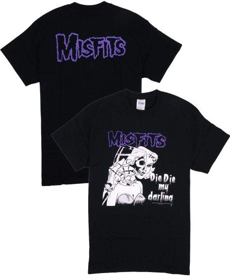 ミスフィッツ ( Misfits ) Tシャツ Die Die My Darling