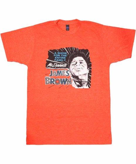 ジェームス ブラウン ( James Brown ) Tシャツ Mr. Dynamite