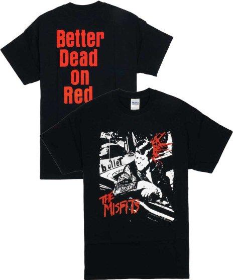 ミスフィッツ ( Misfits ) Tシャツ Bullet ( バックプリントあり )