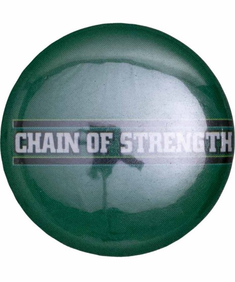 Chain Of Strength バンド缶バッチ Logo Button