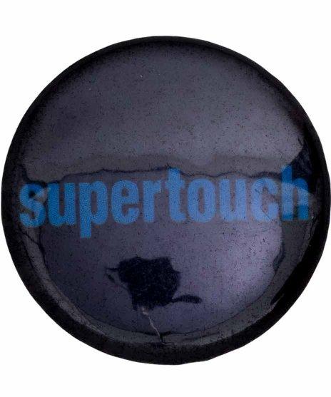 Supertouch バンド缶バッチ Logo ( Blue )