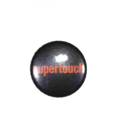 Supertouch バンド缶バッチ Logo ( Orange )