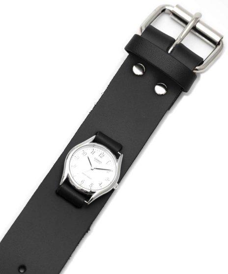 レザーブレスレットタイプ腕時計バンド。WB2 腕時計用 プレーンタイプ