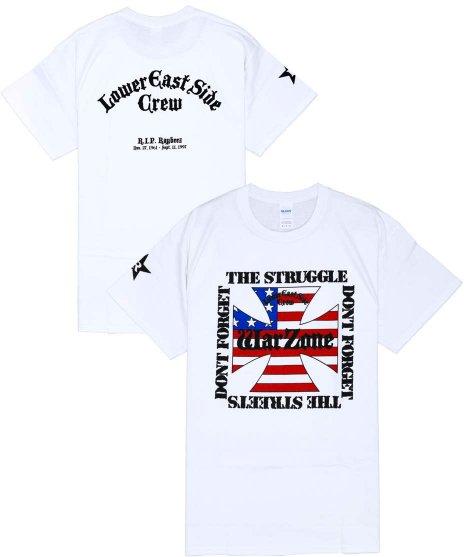 ワーゾーン ( Warzone ) Tシャツ Don'T Forget The Struggle... 【ホワイト】