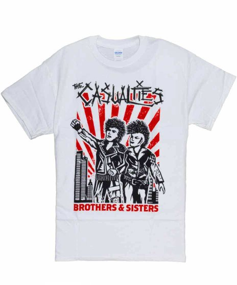 カジュアリティーズ ( The Casualties ) Tシャツ Brothers & Sisters