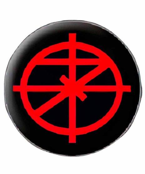 7セカンズ ( 7Seconds ) バンド缶バッチ Scopeロゴ