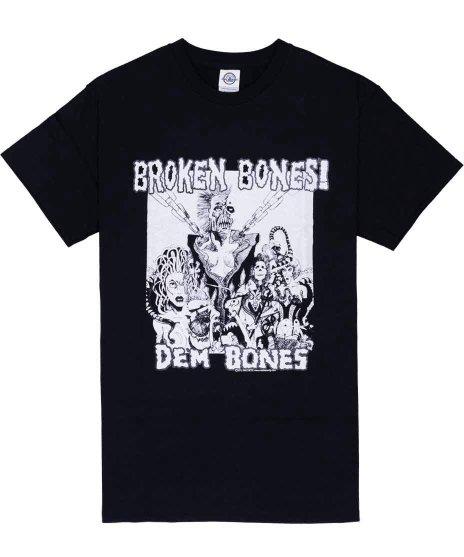 ブロークン ボーンズ ( Broken Bones ) Tシャツ Dem Bones