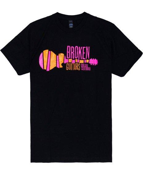 ブロークン ギターショップ ( Broken Guitars ) ショップロゴTシャツ