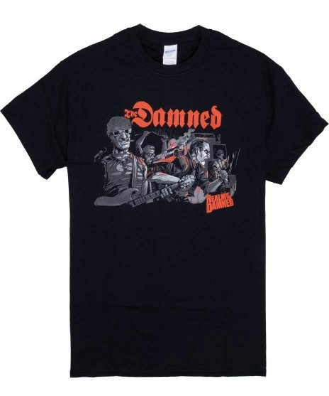 ダムド ( The Damned ) Tシャツ Realm Of The Damned