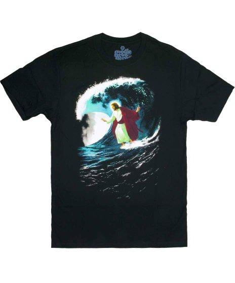 キリスト デザインTシャツ サーフィンジーザス ( Surfing Jesus )