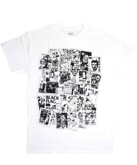 Black Flag(ブラック・フラッグ) Tシャツ フライヤー