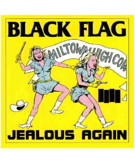 Black Flag(ブラック・フラッグ) バンドステッカー Jealous Again