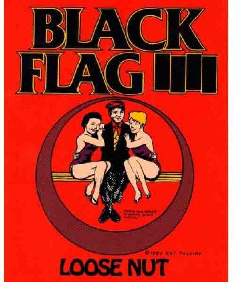 Black Flag(ブラック・フラッグ) バンドステッカー Loose Nut