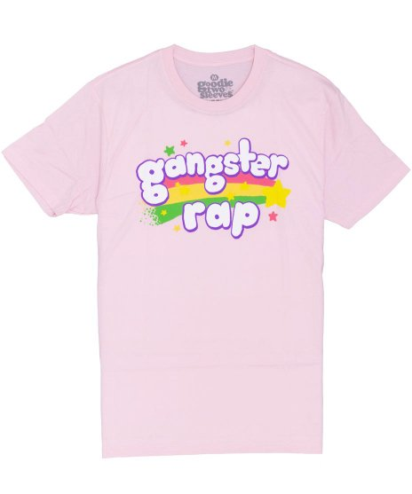 ギャングスタラップ ( GANGSTER RAP ) Tシャツ レインボー