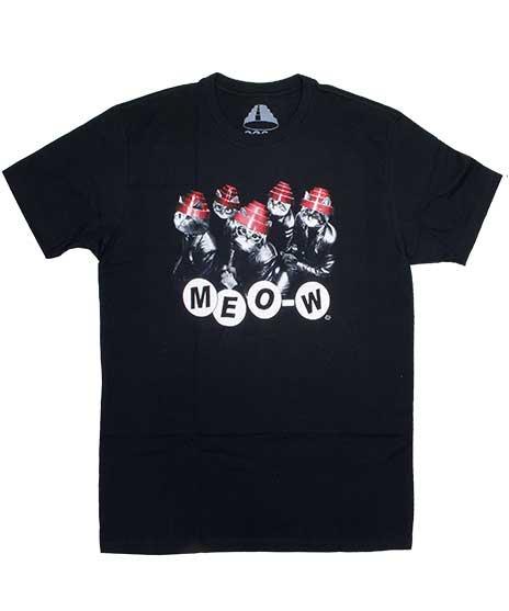 ディーヴォ ( Devo ) Tシャツ Meo-W ( 猫のデザイン )