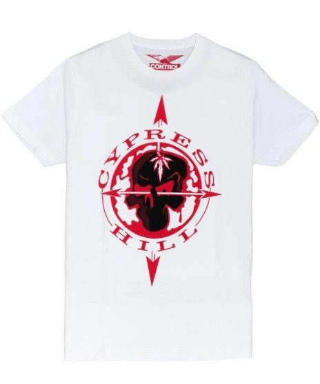 サイプレス ヒル ( Cypress Hill ) Tシャツ Skull & Compass