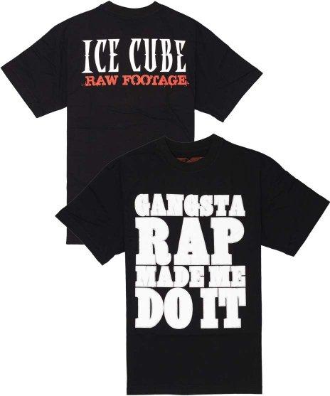アイス キューブ ( Ice Cube ) Tシャツ Gangsta Rap