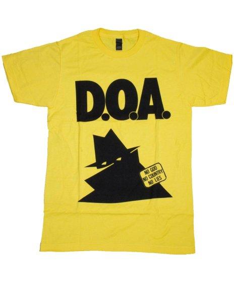 DOA Tシャツ No God No Country