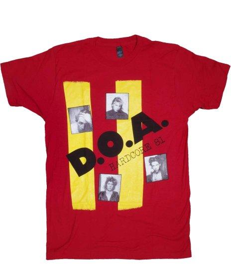 DOA Tシャツ Hardcore 81