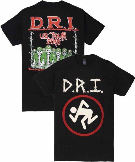 DRI Tシャツ 2016 USツアーデザイン