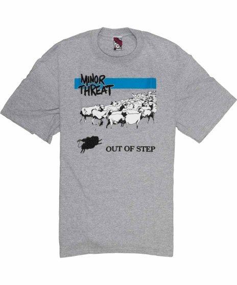 マイナー スレット ( Minor Threat ) Tシャツ Out Of Step