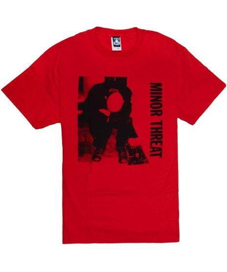 マイナー スレット ( Minor Threat ) Tシャツ Ian Photo