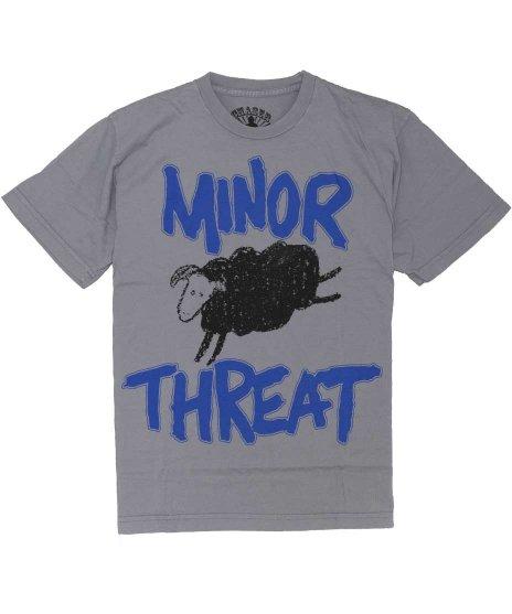 マイナー スレット ( Minor Threat ) Tシャツ Out Of Step 「黒の羊」