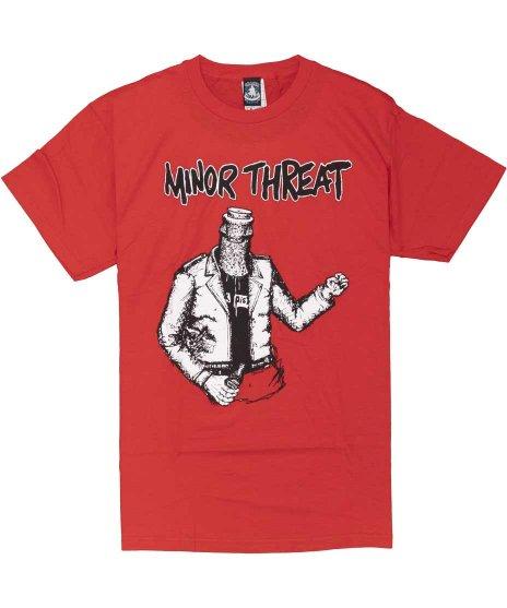 マイナー スレット ( Minor Threat ) Tシャツ Bottled Violence