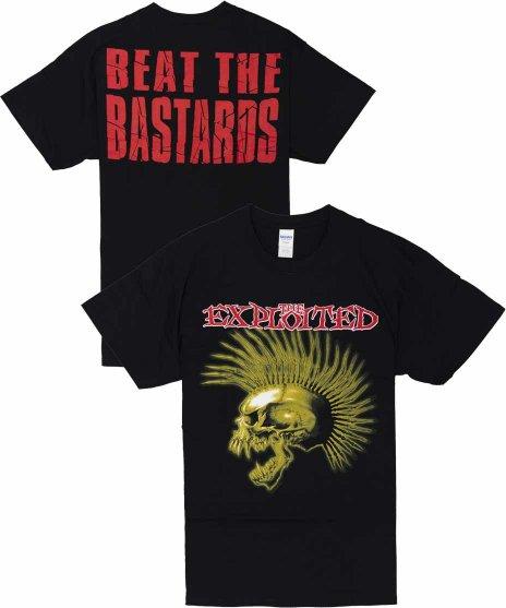 The Exploited ( エクスプロイテッド ) Tシャツ Beat The Bastards