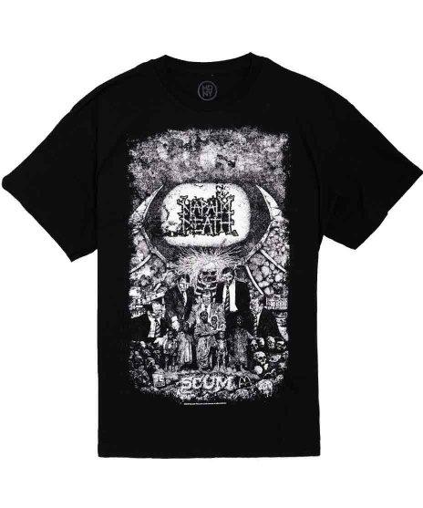 ナパーム デス ( Napalm Death ) バンド」Tシャツ Scum ヴィンテージ