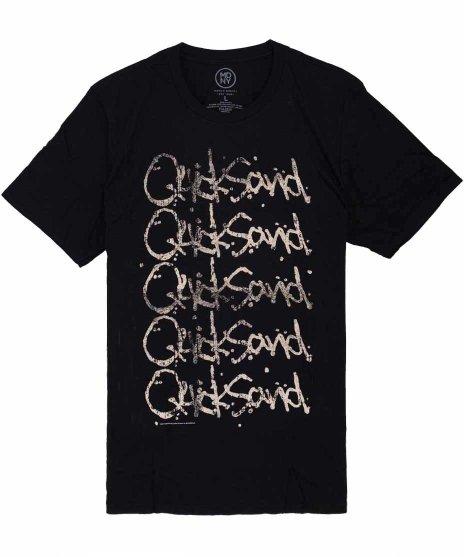 クイックサンド ( Quicksand ) Tシャツ Echo