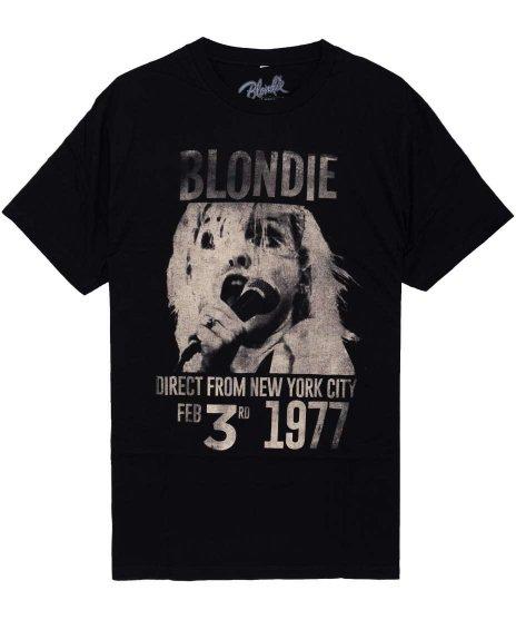 ブロンディー ( Blondie ) Tシャツ 1977