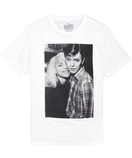 ブロンディー ( Blondie ) Tシャツ デヴィッド ボウイ & デビー ハリー