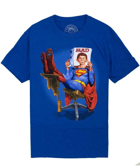 マッドマガジン ( Mad Magazine ) アメコミTシャツ スーパーアルフレッド