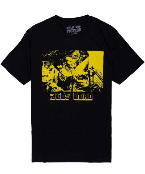 パルプ・フィクション ( Pulp Fiction ) 映画 Tシャツ ブルース・ウィルス Zeds Dead