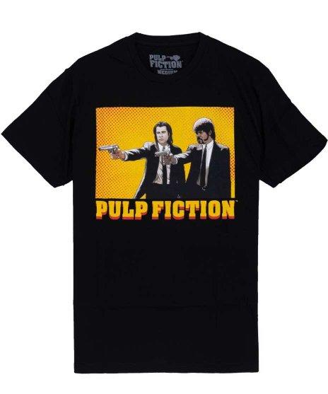 パルプ・フィクション ( Pulp Fiction ) 映画 Tシャツ カートゥーン