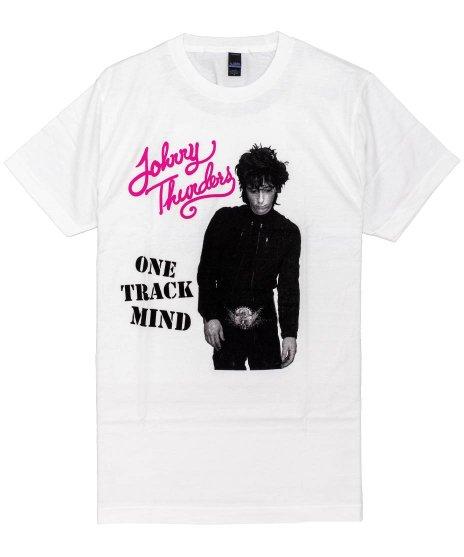 ジョニーサンダース ( Johnny Thunders ) Tシャツ One Track Mind
