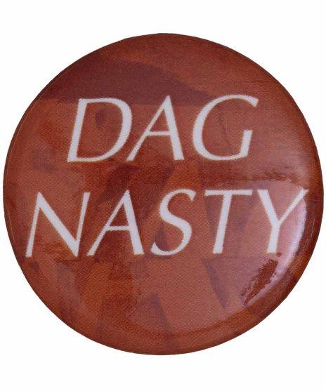 Dag Nasty ( ダグナスティー ) バンド缶バッジ ロゴ